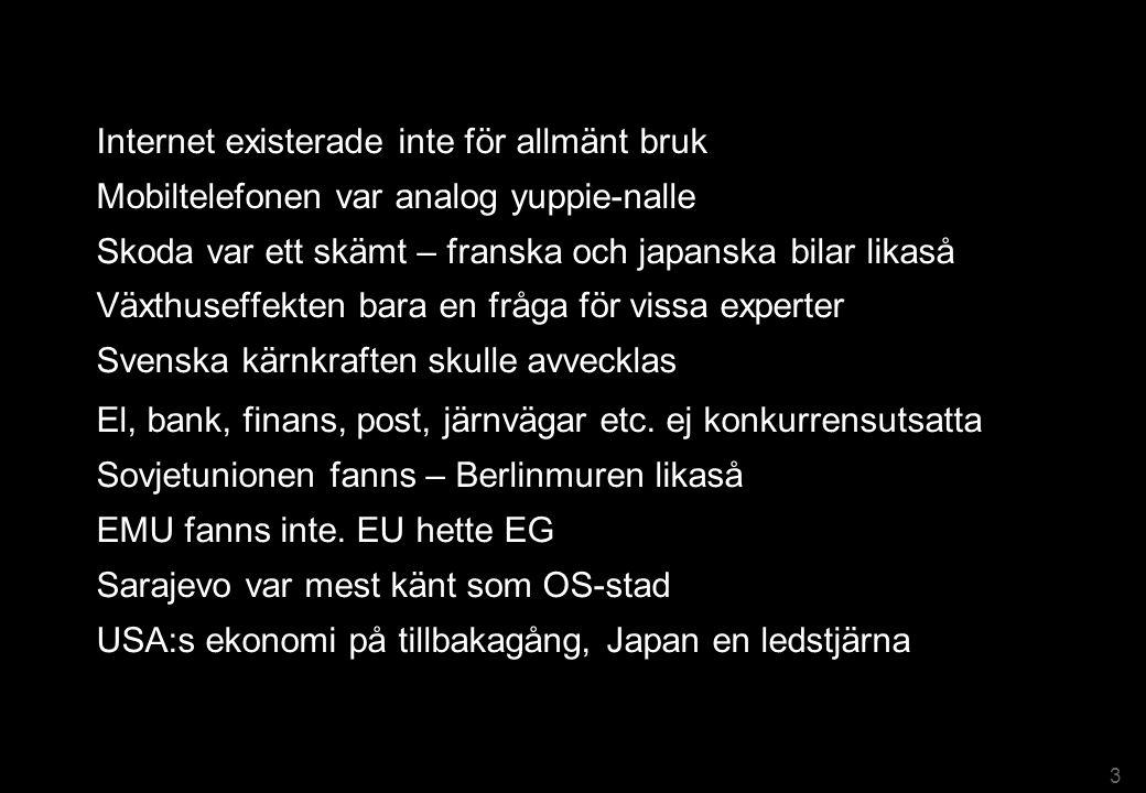 Hur såg Sverige ut för 12 år sedan – år 1999? 4