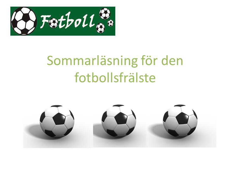 Sommarläsning för den fotbollsfrälste