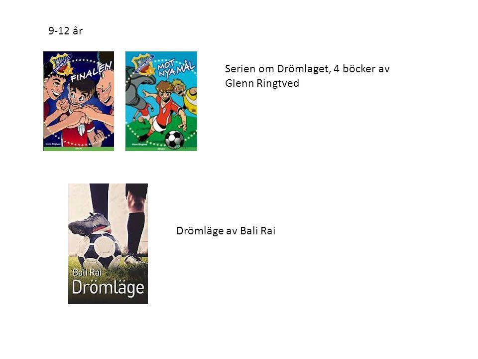 Serien om Drömlaget, 4 böcker av Glenn Ringtved 9-12 år Drömläge av Bali Rai