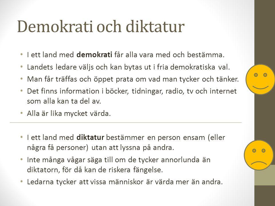 Att bestämma tillsammans Även om alla i Sverige får vara med och bestämma, så kan inte alla hela tiden få som de vill.