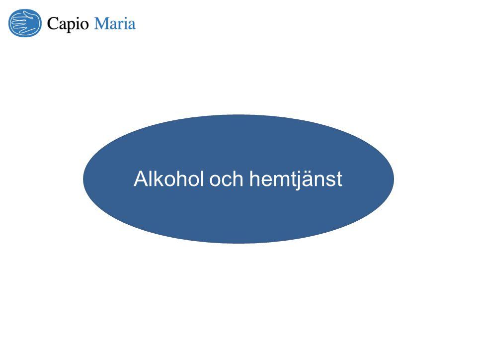 Alkohol och hemtjänst