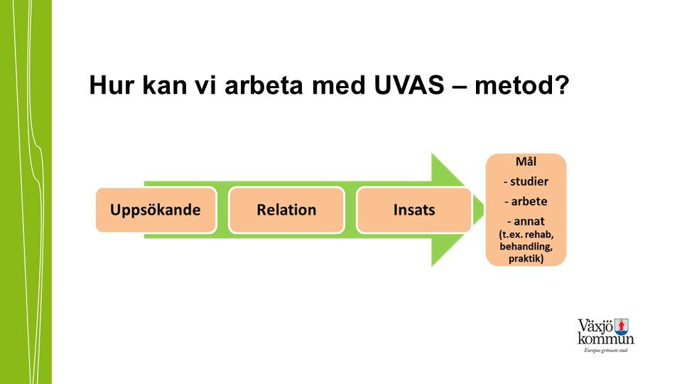 Hur kan vi arbeta med UVAS – metod?