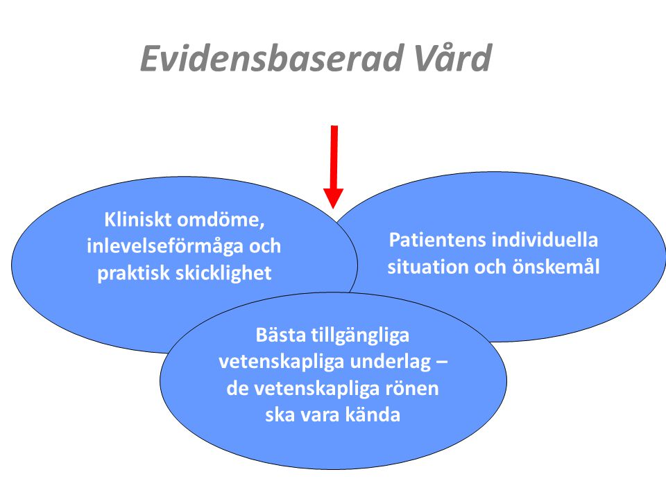 www.lvn.se Tidspress Begränsad kännedom om verktygen Felaktig tolkning av EBV- Får vi nu bara använda metoder med högt bevisvärde? Kokbokskunskap Hinder EBV
