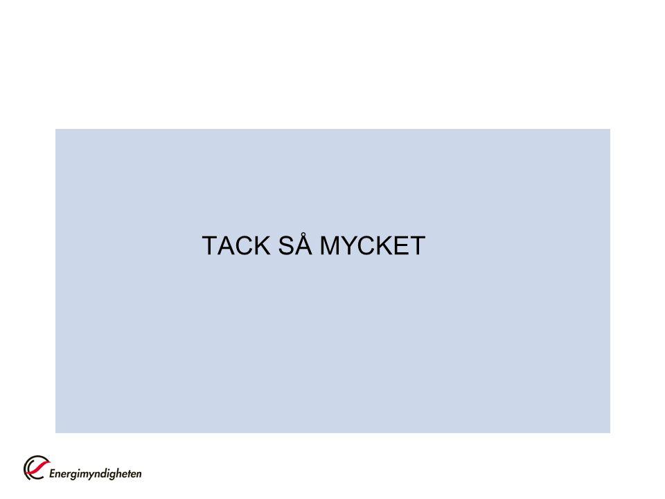 TACK SÅ MYCKET