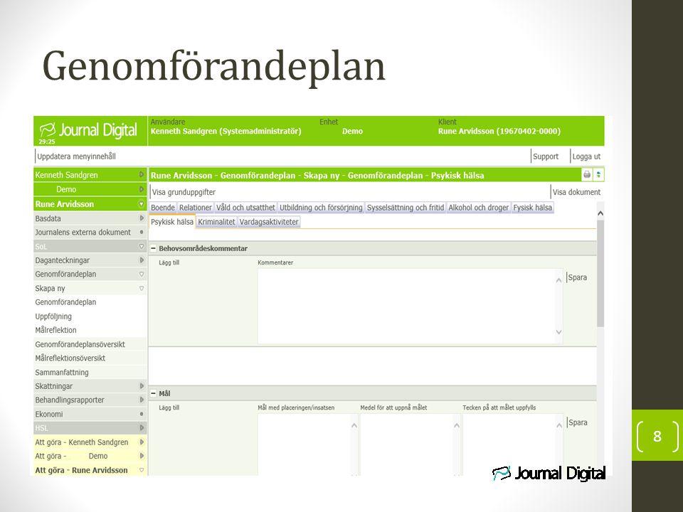 Genomförandeplan 8