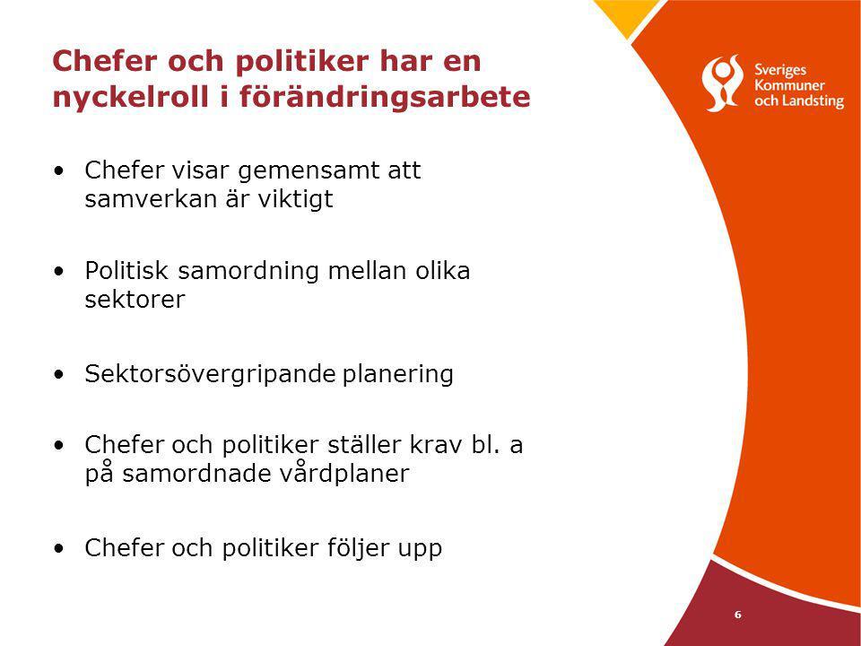 7 Varför riktlinjer - enligt Socialstyrelsen.