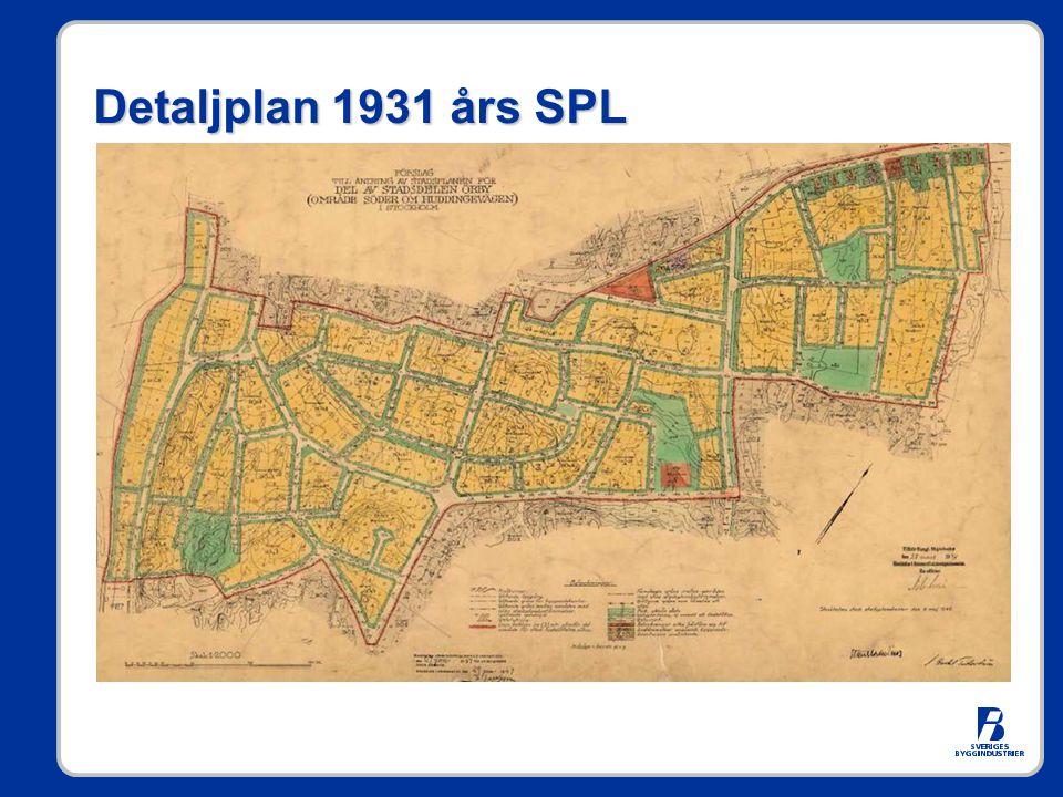 Detaljplan 1931 års SPL