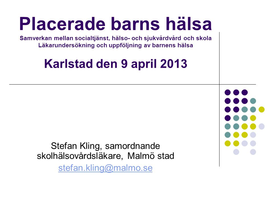Rätten till Hälsa – en grundläggande mänsklig rättighet UN Committee on Economic, Social and Cultural Rights (CESCR), General Comment No.