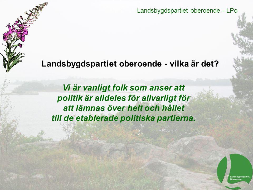 Landsbygdspartiet oberoende - LPo Kultur, idrott och rekreation Utöka Bokbussarnas verksamhet.