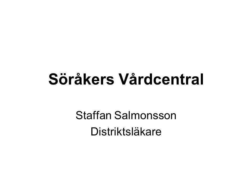 Söråkers Vårdcentral Staffan Salmonsson Distriktsläkare