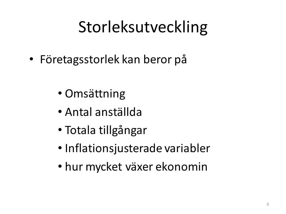 17 SOLIDITET Företagets långsiktiga betalningsförmåga Justerat Eget Kapital Totalt Kapital JEK= Eget kapital + (1 – skattesats) x obeskattade reserver Svenska företag annars har låg eget kapital.
