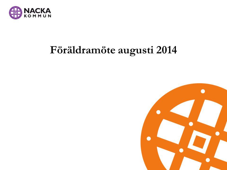 Föräldramöte augusti 2014