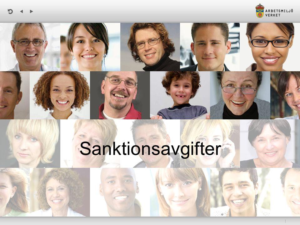 | Framtagandet av sanktionsavgifter