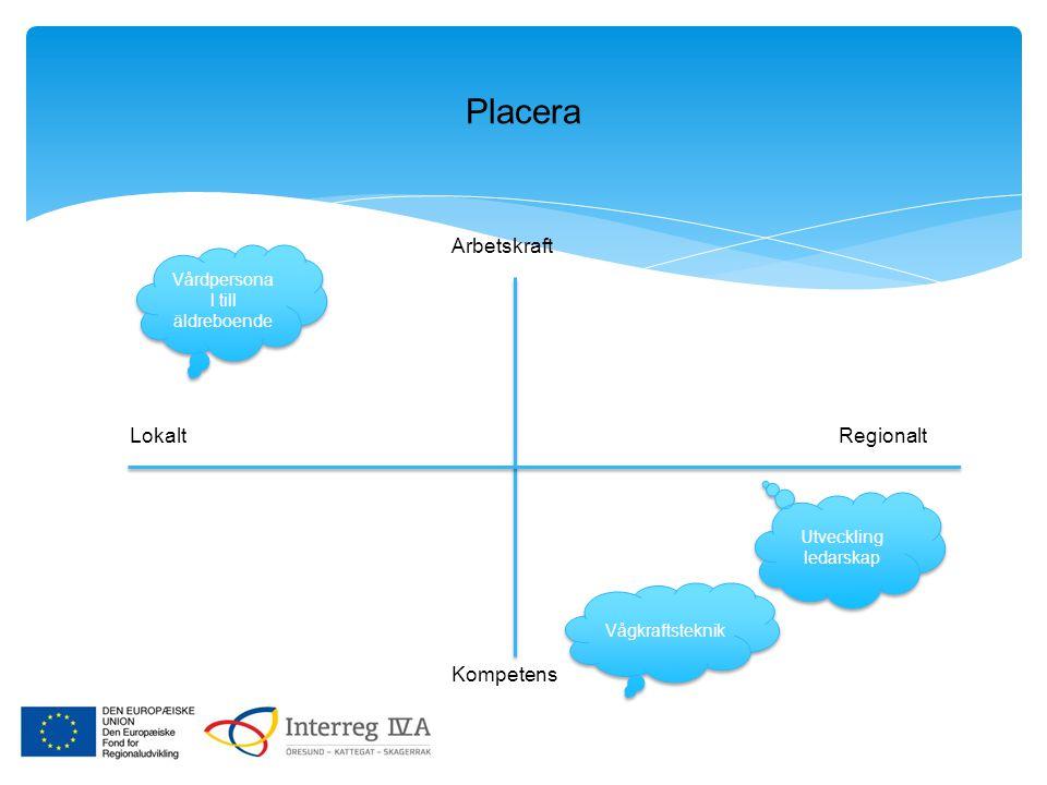 Placera LokaltRegionalt Arbetskraft Kompetens Vårdpersona l till äldreboende Utveckling ledarskap Vågkraftsteknik
