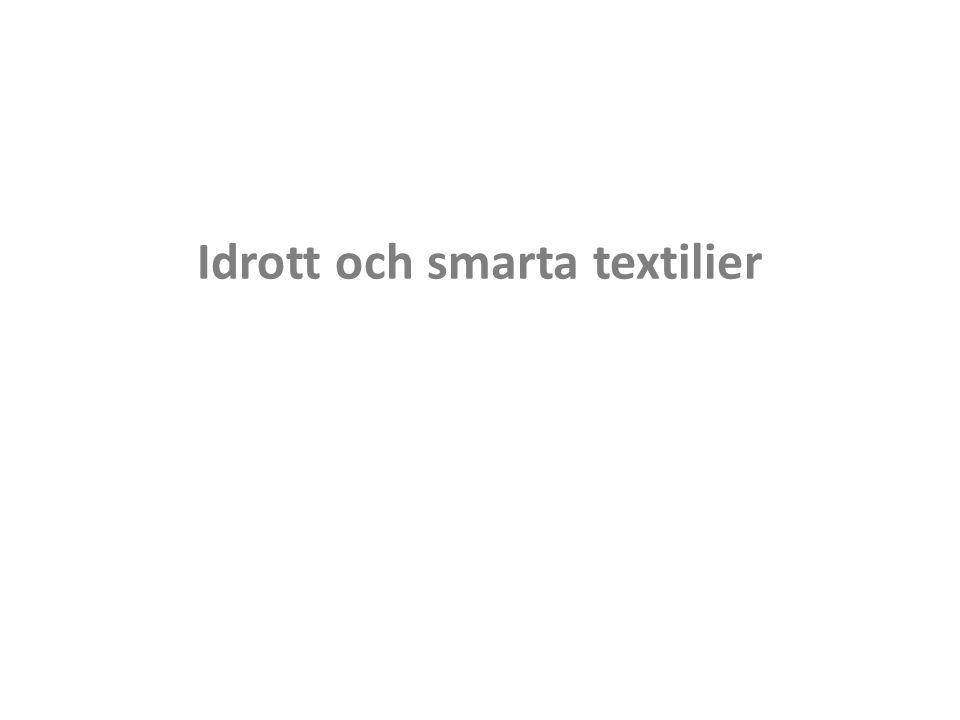 Idrott och smarta textilier