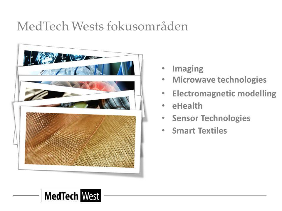 MedTech Wests fokusområden Smart Textiles Imaging Microwave technologies Electromagnetic modelling eHealth Sensor Technologies