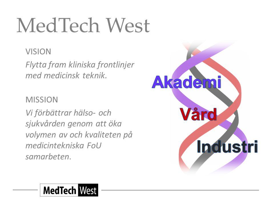 MedTech West VISION Flytta fram kliniska frontlinjer med medicinsk teknik.