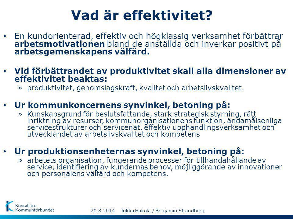 Vad är effektivitet? En kundorienterad, effektiv och högklassig verksamhet förbättrar arbetsmotivationen bland de anställda och inverkar positivt på a