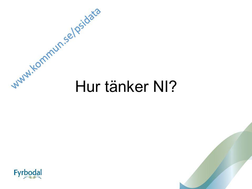 Hur tänker NI? www.kommun.se/psidata