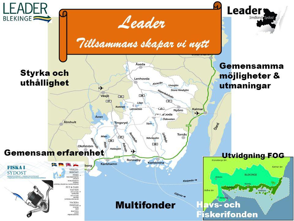 Leader 2014-2020 Från experiment till multimetod 5:e generationens Leader (Lokalt Ledd Utveckling) Nu blir Leadermetoden förebild i alla fonderna 5:e generationens Leader (Lokalt Ledd Utveckling) Nu blir Leadermetoden förebild i alla fonderna