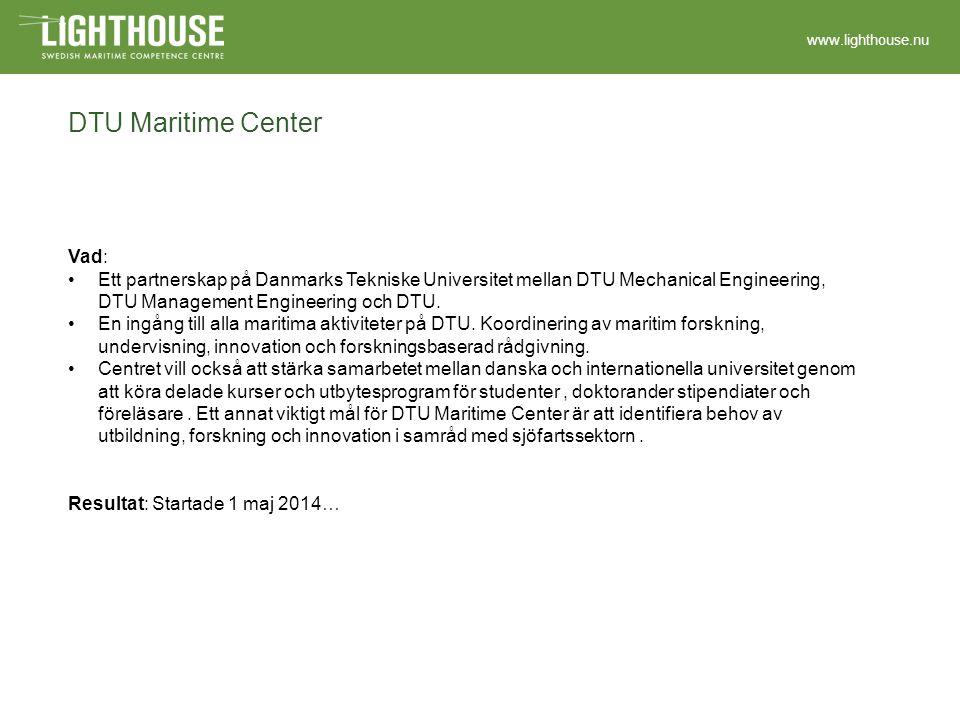 www.lighthouse.nu AMOS - Centre for Autonomous Marine Operations and Systems Vad: AMOS är ett Centre of Excellence på NTNU i Trondheim, utsett av Norges forskningsråd.