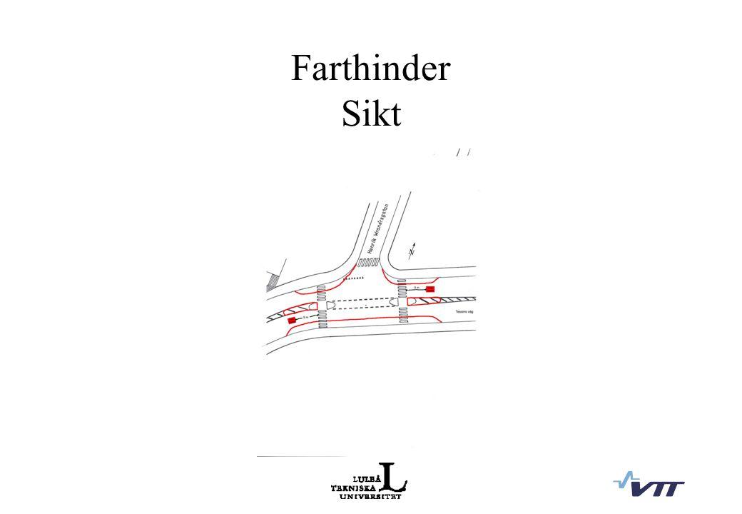 Farthinder Sikt