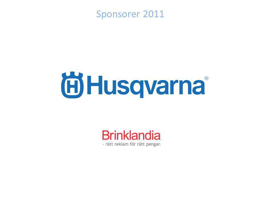 Sponsorer 2011