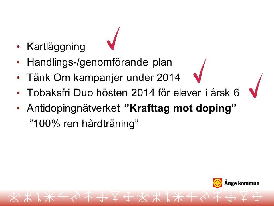 CAN undersökningen 2013 Ånge