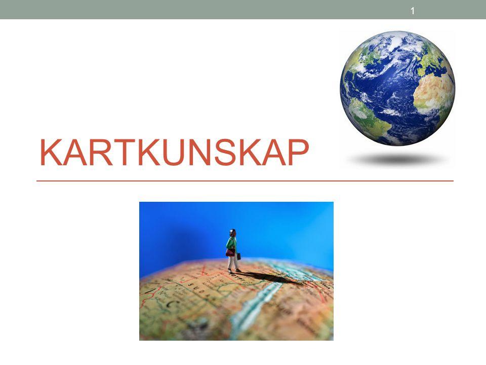 12 Ekvatorn Linjen som går mitt på jordklotet/kartan kallas ekvatorn.
