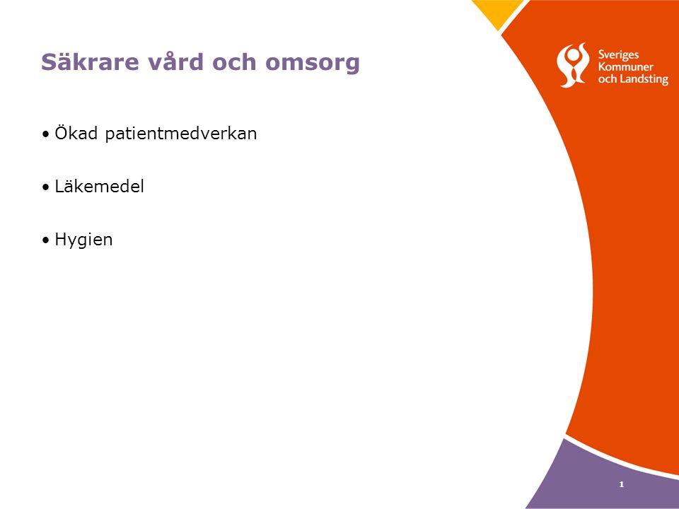 2 Patientsäkerhet – att förebygga vårdskador Med vårdskada menas lidande, obehag, kroppslig eller psykisk skada, sjukdom eller död, som orsakas av hälso- och sjukvården och som inte är en oundviklig konsekvens av patientens tillstånd SOSFS 2005:12