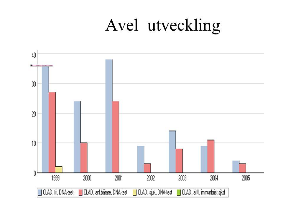 Diagramtyp: Avel utveckling