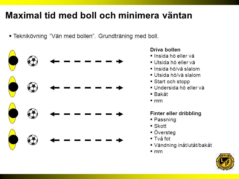  Teknikövning Vän med bollen .Grundträning med boll.