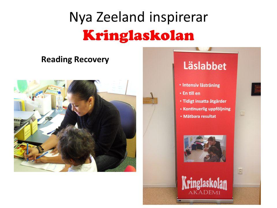Nya Zeeland inspirerar Kringlaskolan Reading Recovery
