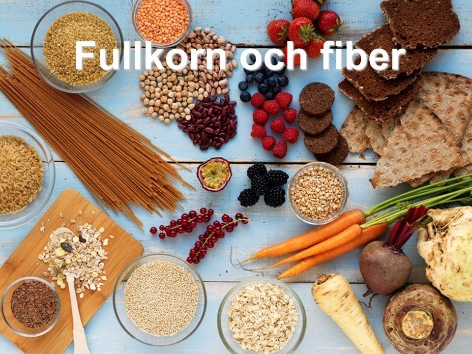 Fullkorn och fiber