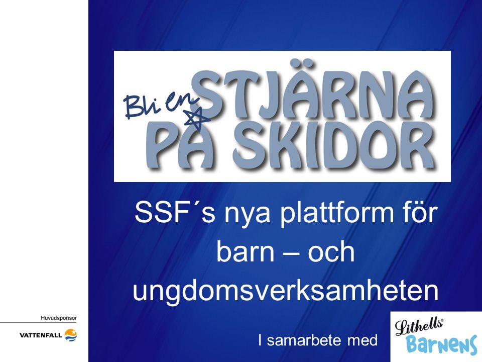 Vision Stjärna på skidor är den nya plattformen för barn- och ungdomsaktiviteter i Sverige (0-16år).
