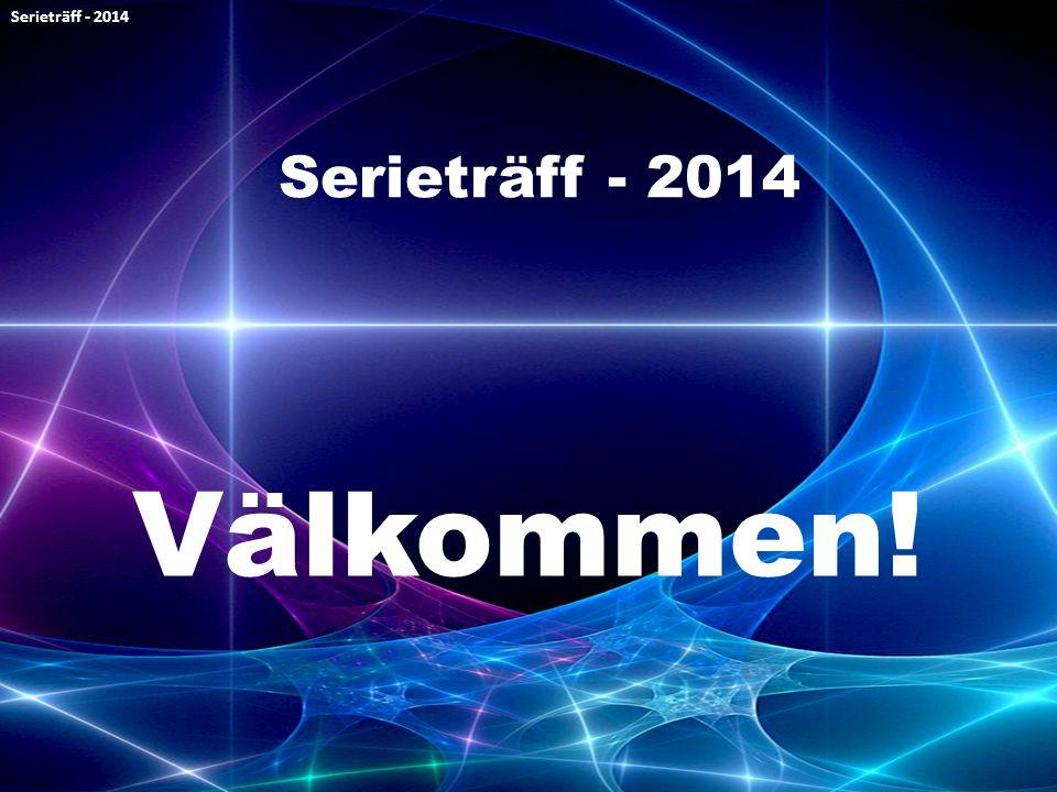 Välkommen! Serieträff - 2014