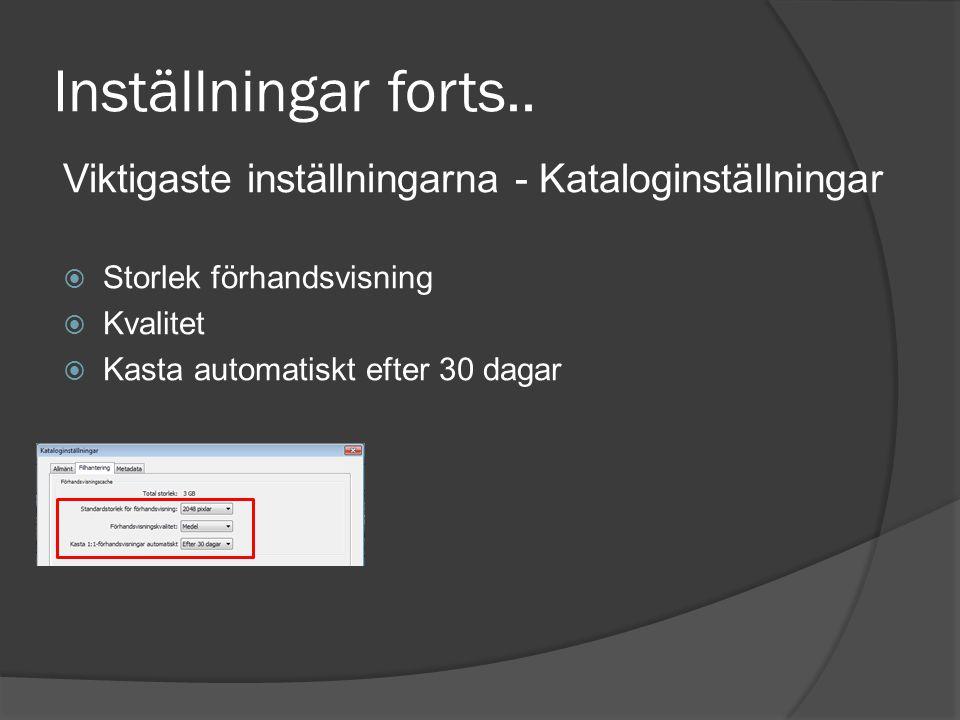 Mer om import Filtyper  JPG  TIFF  PSD  RAW  CMYK  MOVIE  PNG Tips!.