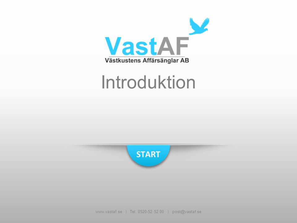 www.vastaf.se | Tel. 0520-52 52 00 | post@vastaf.se Introduktion