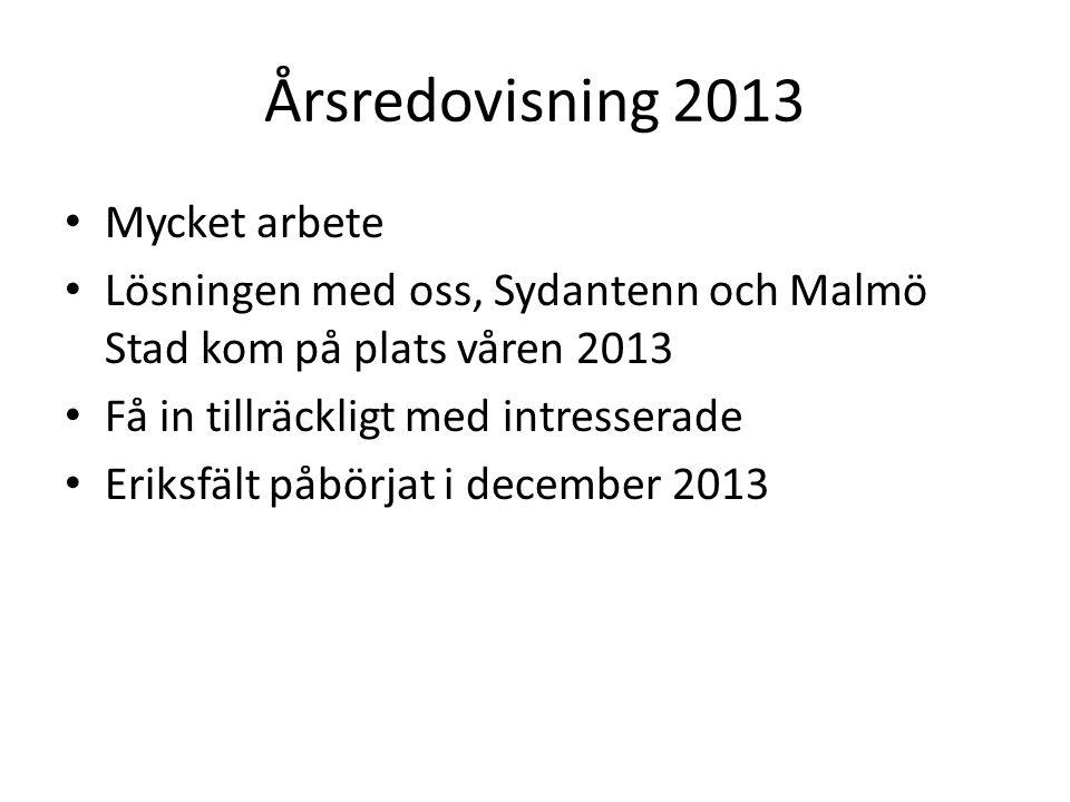 Dagordning 13. Val av styrelseledamöter Förslag David Nimhed, 1 år Björn Eldvall, 2 år