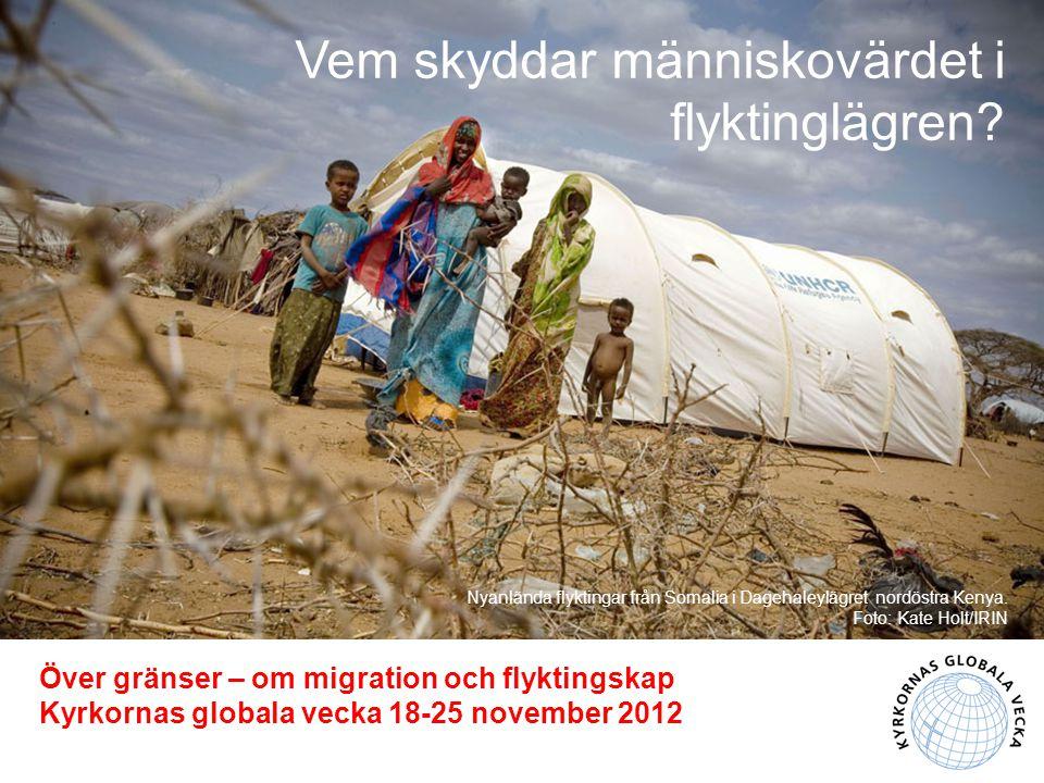 Nyanlända flyktingar från Somalia i Dagehaleylägret nordöstra Kenya.