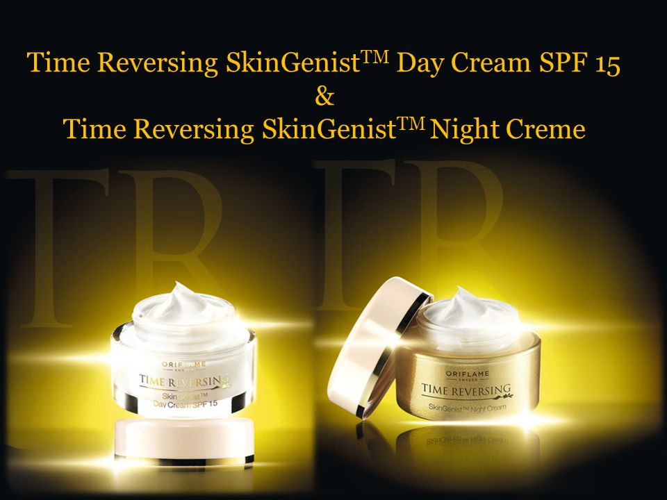 Time Reversing SkinGenist TM Day Cream SPF 15 & Time Reversing SkinGenist TM Night Creme