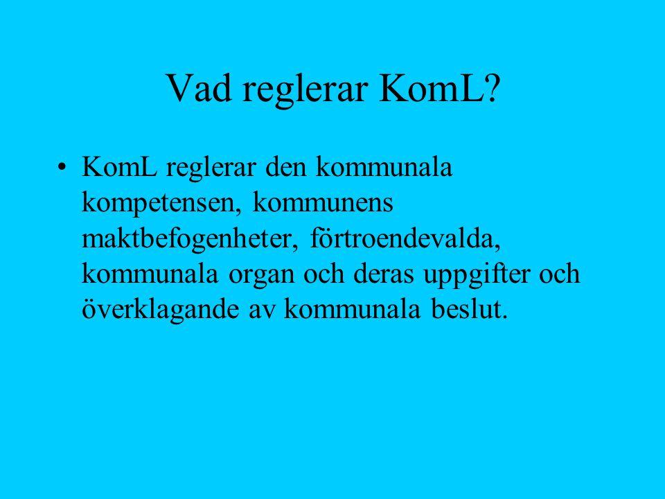 Överklagande av kommunala beslut Inom svensk förvaltningsrätt förekommer två typer av besvär –Förvaltningsbesvär –Kommunalbesvär