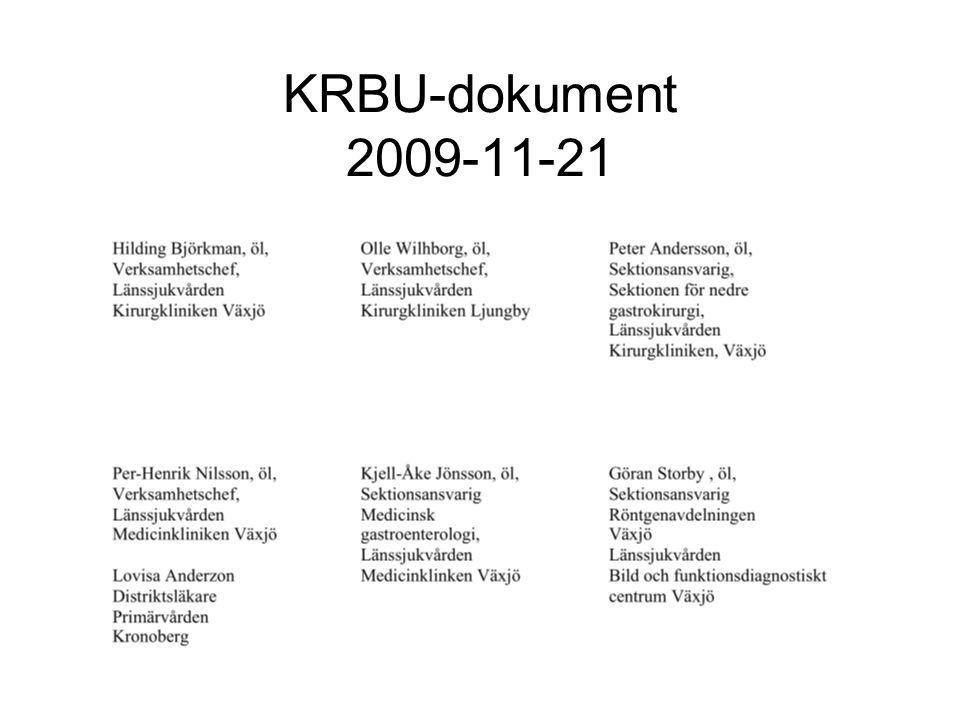 KRBU-dokument 2009-11-21