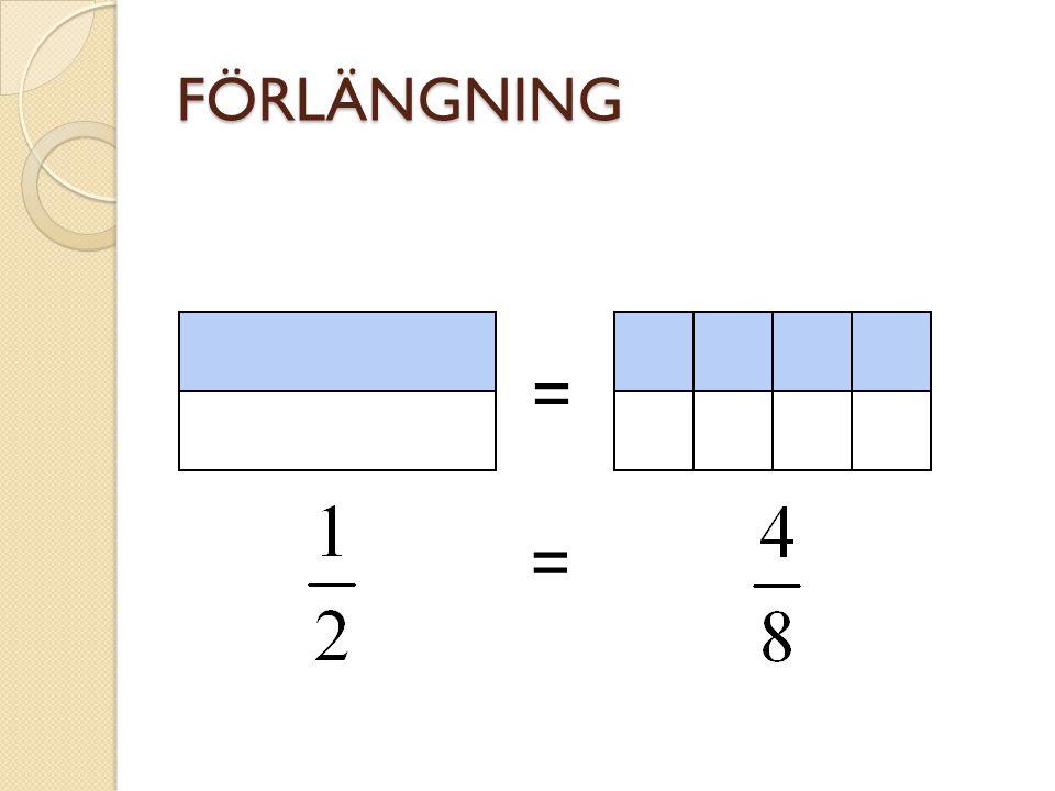 FÖRLÄNGNING = =