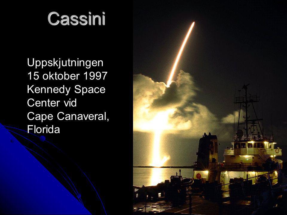 Cassini Uppskjutningen 15 oktober 1997 Kennedy Space Center vid Cape Canaveral, Florida