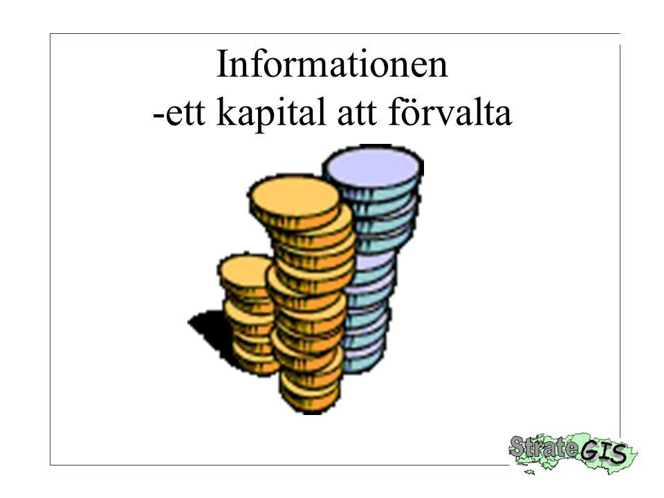 Informationen -ett kapital att förvalta