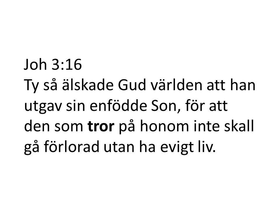 Nåd (frälsning) Tro Vad krävs för att få del av nåden? Ef 2:8 Joh 3:16