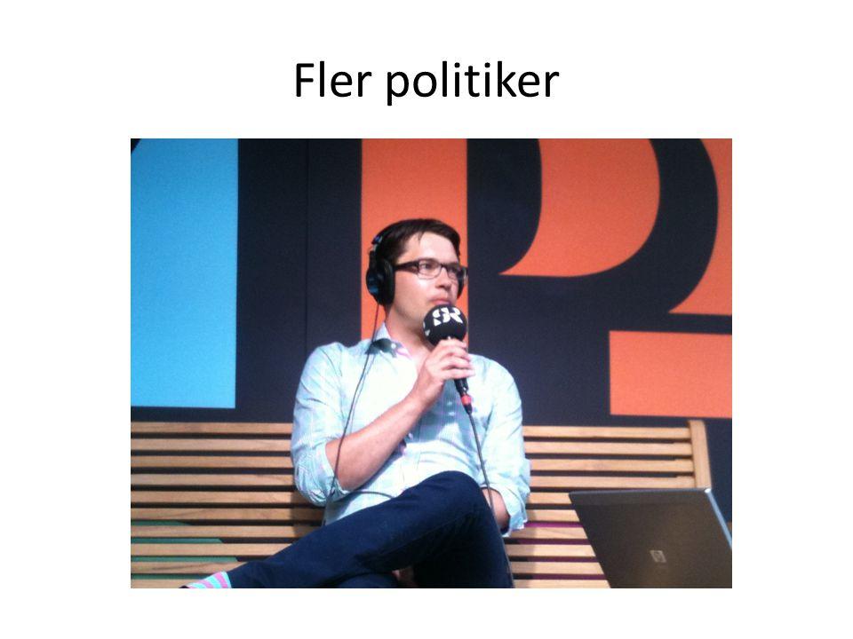 Fler politiker