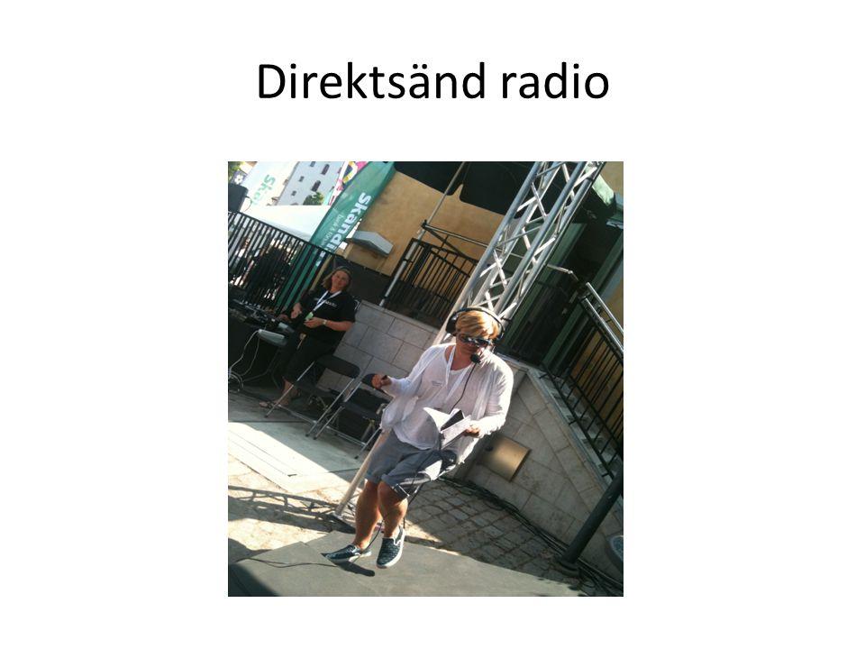 Direktsänd radio