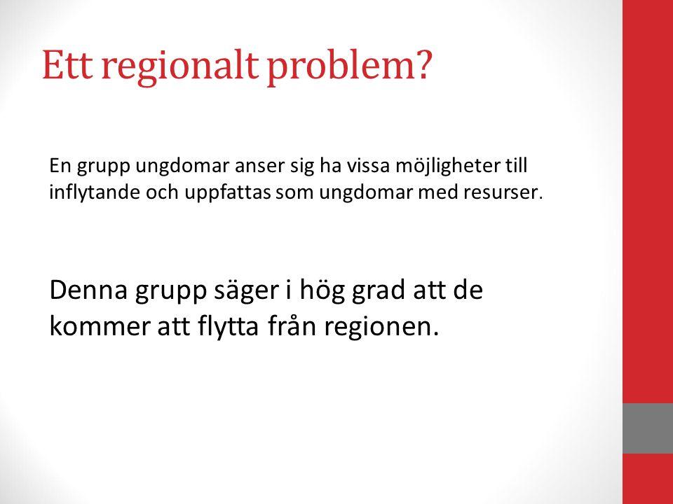 Ett regionalt problem.